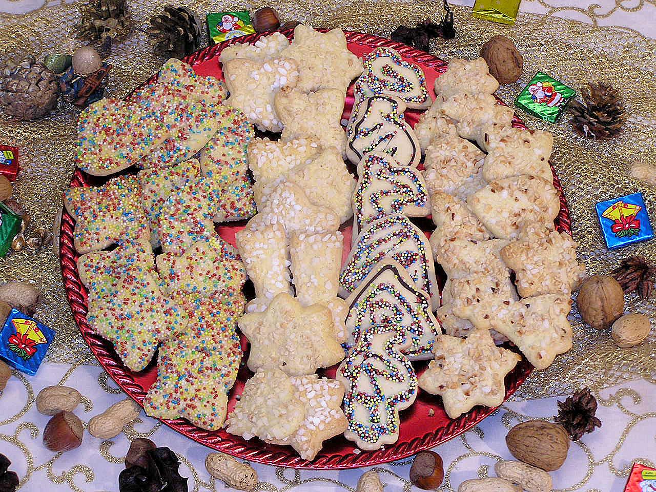 Zuckergebäck - Zuckerperlen-Gebäck - Buttergebäck Royal